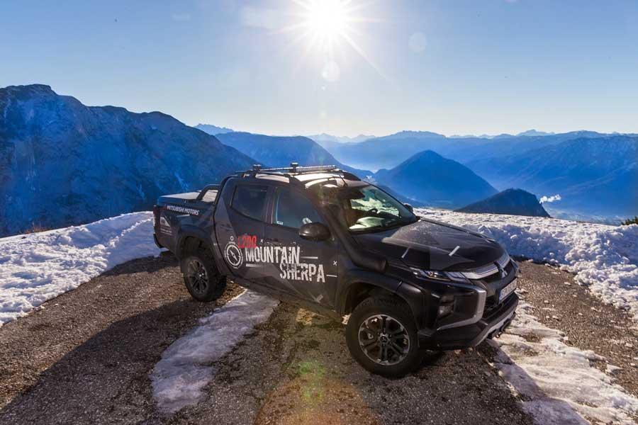 Mitsubishi ukázalo špeciálnu verziu L200 Mountain Sherpa