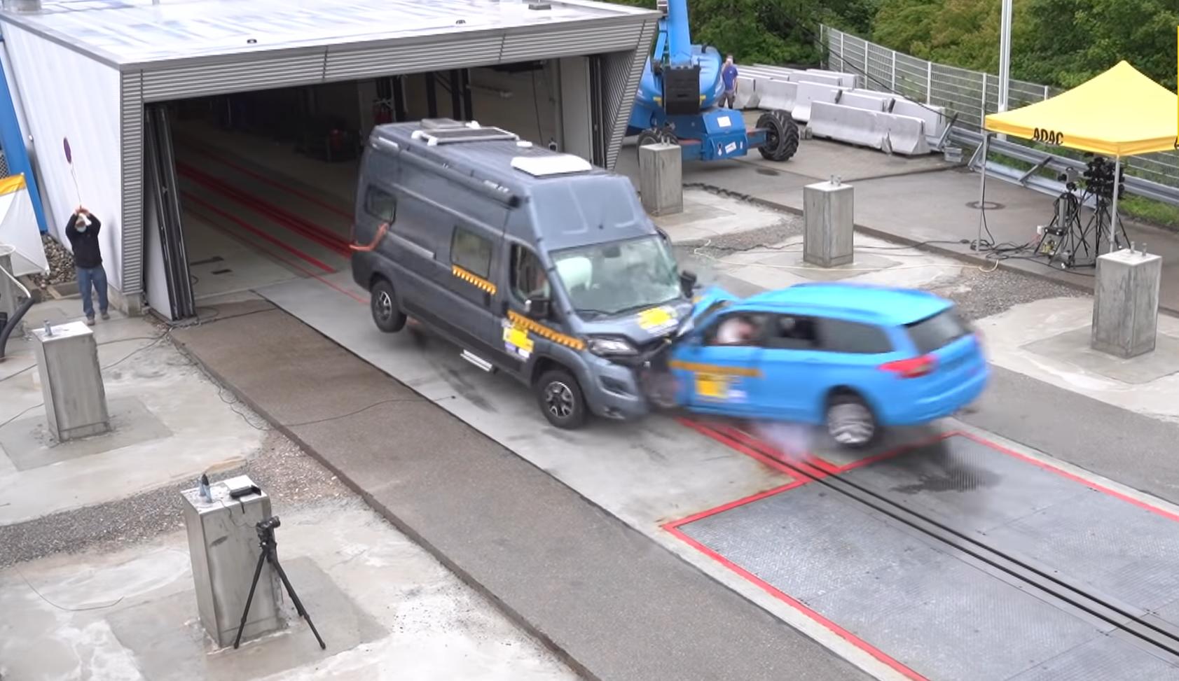 ADAC otestoval bezpečnosť obytného auta. Výsledok je desivý