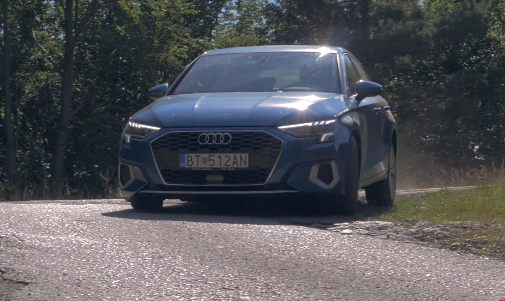 Audi A3 Sportback zaujalo podvozkom, priestorom nesklamalo