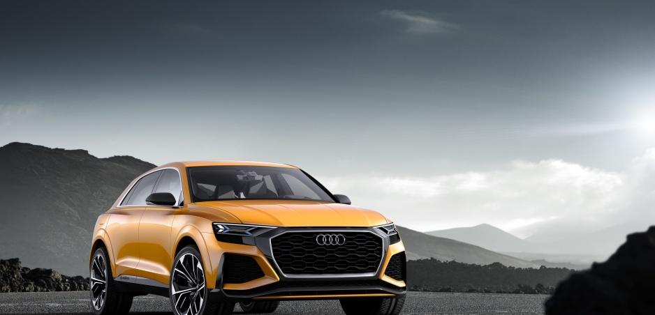 Audi Q8 Sport Concept: Ďalší titán v slovenskom tíme.