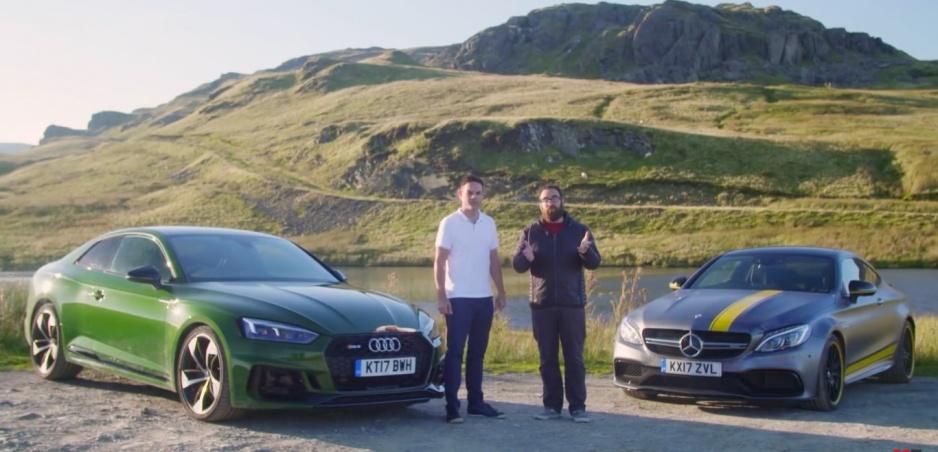 Audi RS5 vs. Mercedes-AMG C63 S: Šesťvalec alebo osemvalec?