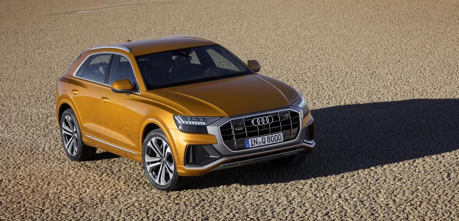 Audi ukázalo svoje nové SUV Q8