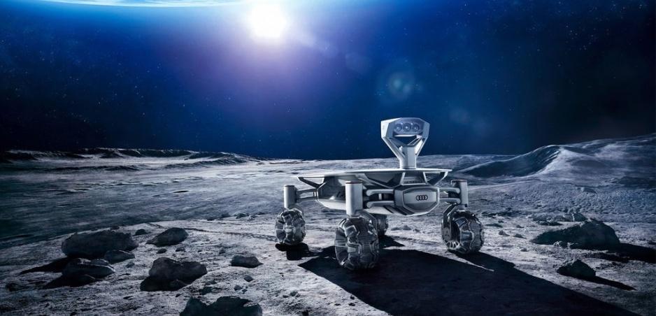 Audi vyšle lunar quattro na Mesiac, zatiaľ ho predviedlo v reklame