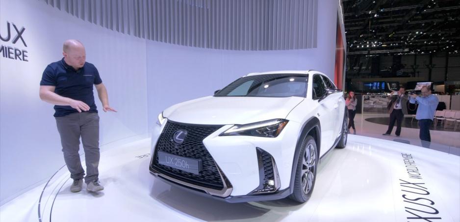 Autosalón Ženeva: Lexus UX je nový mestský crossover, zadné svetlá mu slúžia ako spojler