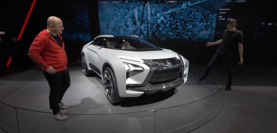 Autosalón Ženeva: Mitsubishi e-Evolution vás upozorní na zlé šoférovanie