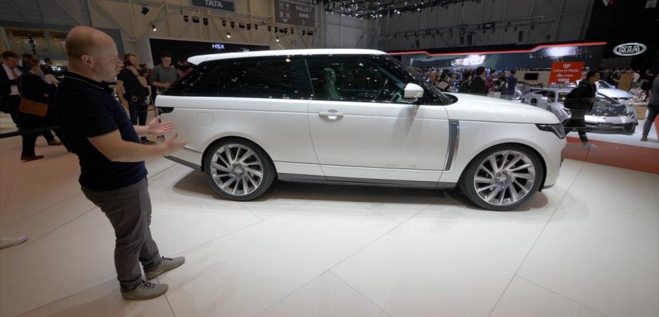 Autosalón Ženeva: Range Rover SV Coupe je reálna trojdverová a drahá verzia