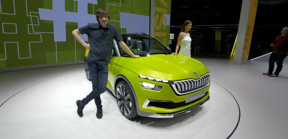 Autosalón Ženeva: Škoda predviedla hybridný Vision X a modernizovanú Fabiu