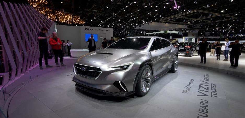 Autosalón Ženeva: Subaru Viziv Tourer ukazuje budúcnosť v oblasti dizajnu