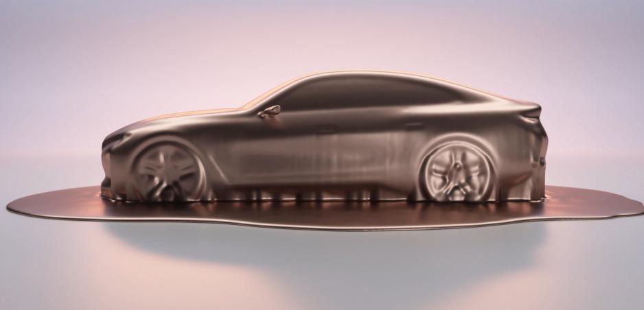 BMW i4 Concept sa odhaľuje na prvom obrázku