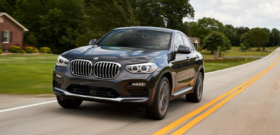 BMW odhaľuje nové SUV X4 na ďalších fotkách