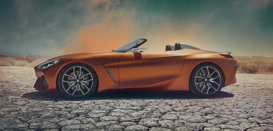 BMW Z4 Concept sa dizajnovo vydaril