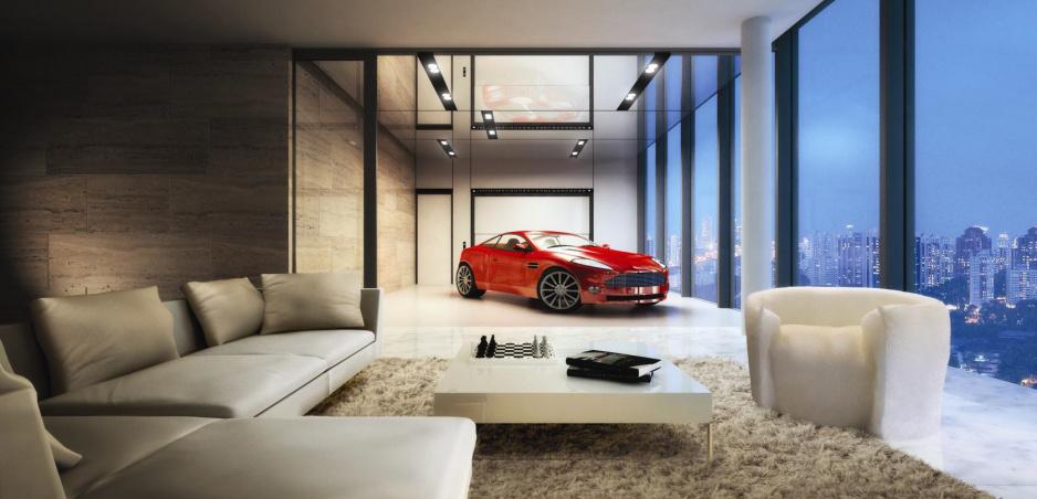 Chcete parkovať v obývačke? Pripravte si milióny
