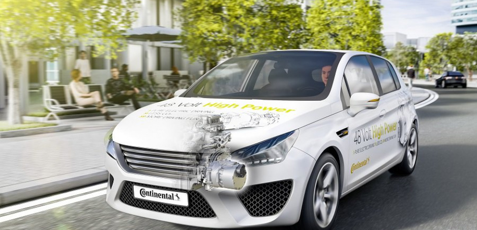 Continental vyvinul nový hybridný pohon: Ušetrí dvakrát viac paliva