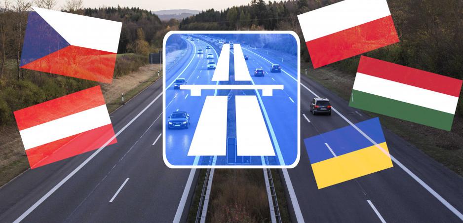 Diaľnice v Európe: Pozrite si prehľad cien