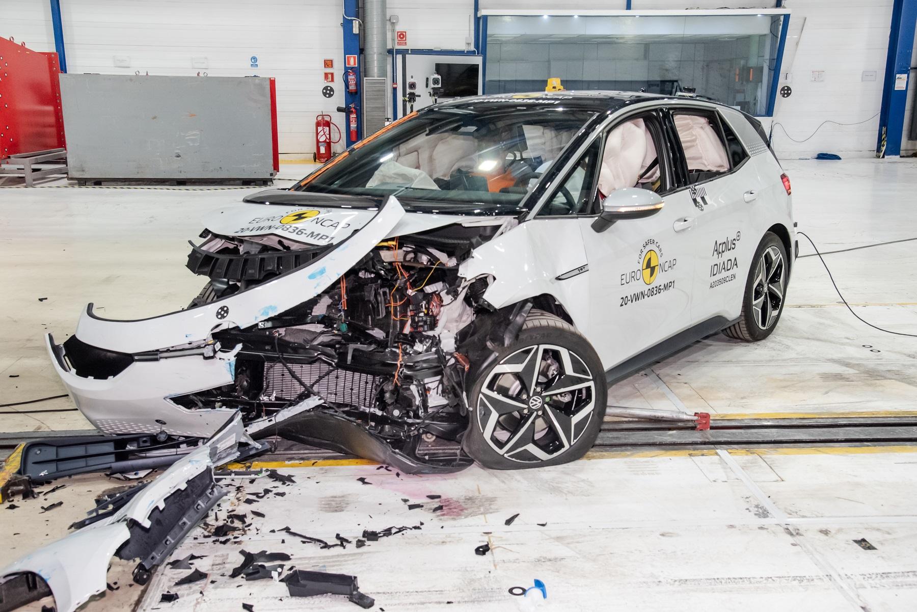 Elektrický Volkswagen ID.3 dostal 5 hviezdičiek za bezpečnosť