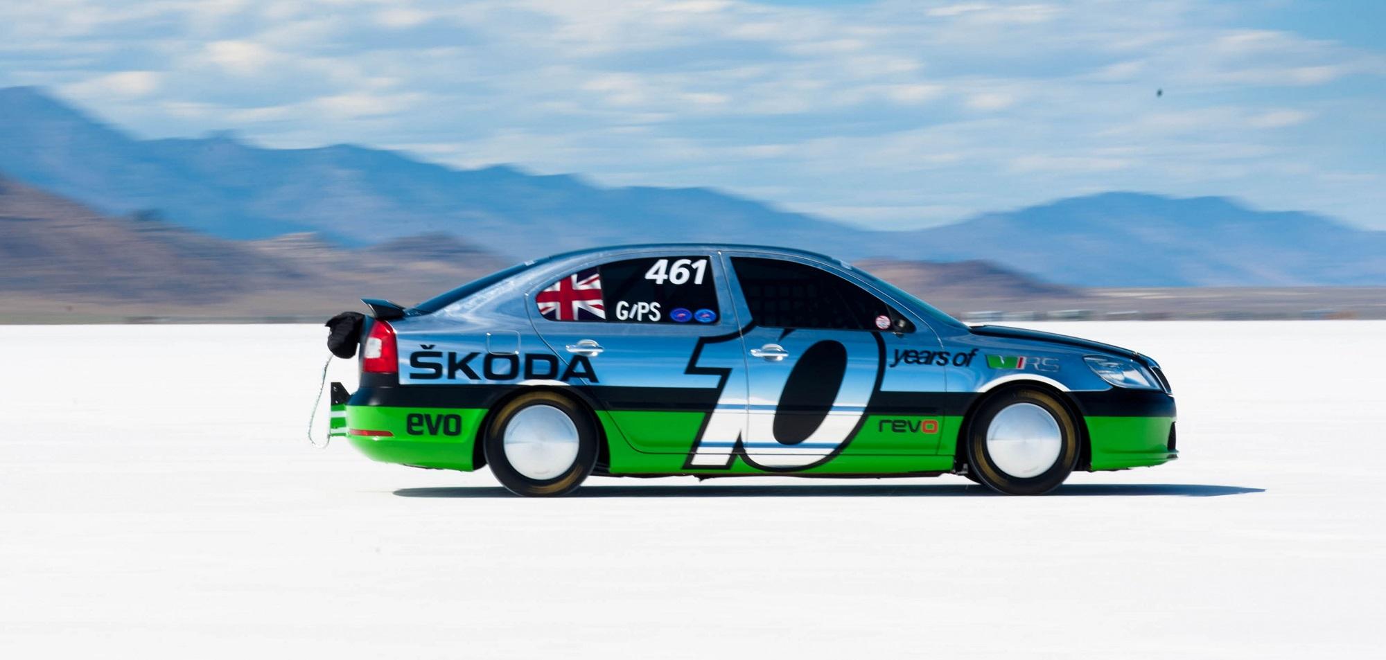 Fakty ačísla o Škode Octavia: Upravená verzia stanovila rýchlostný rekord 365 km/h