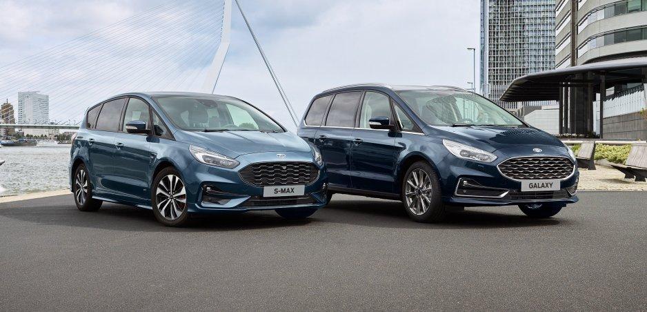 Ford stále verí v budúcnosť rodinných áut. Modernizoval S-Max a Galaxy