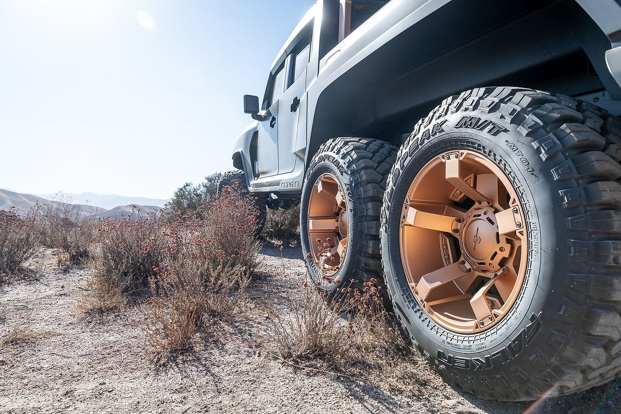 Hercules 6x6 má byť najvýkonnejším 6-kolesovým truckom na svete
