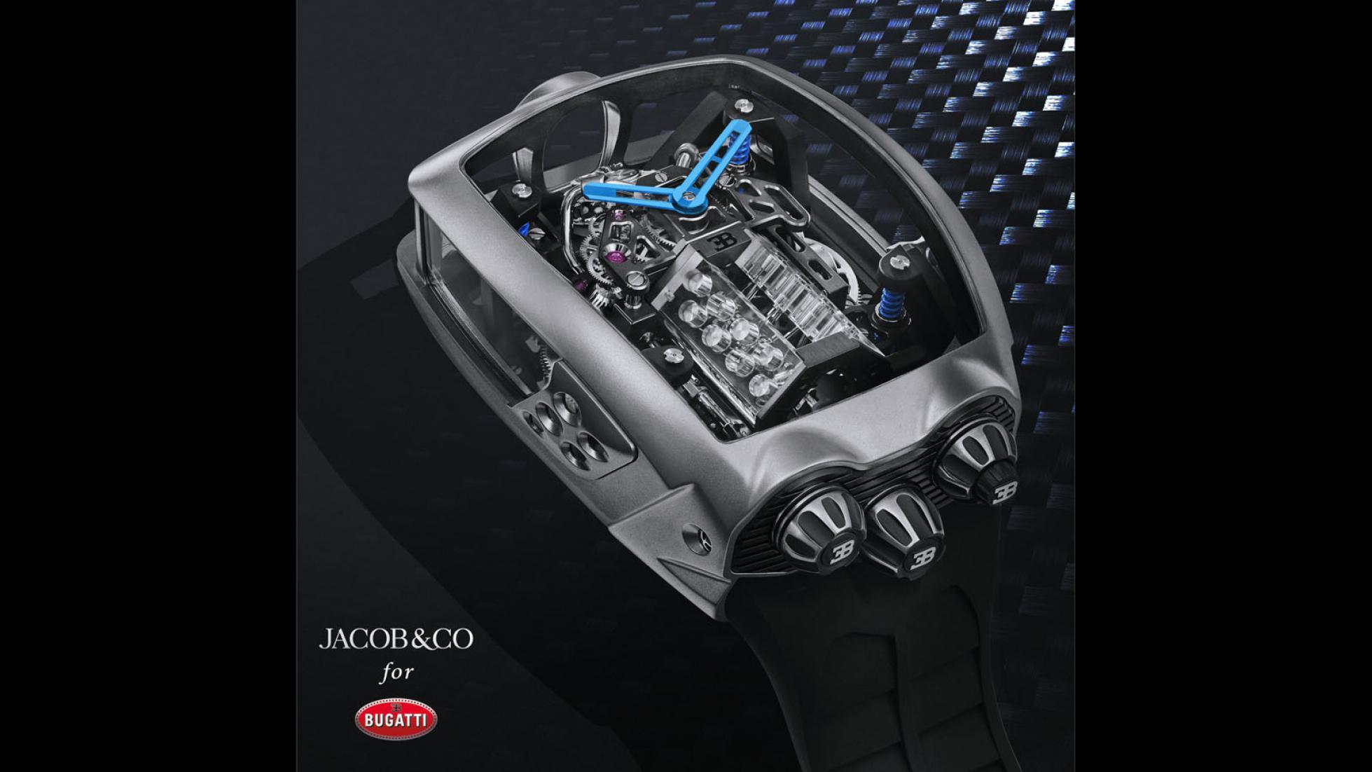 Hodinky Bugatti majú cenu drahého auta a miniatúrny šestnásťvalec 7yvt1J4bb5 jacob-co-bugatti-chiron