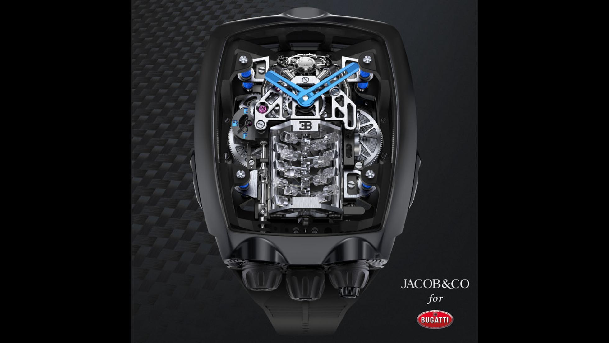 Hodinky Bugatti majú cenu drahého auta a miniatúrny šestnásťvalec Xb2AbWfg7R jacob-co-bugatti-chiron