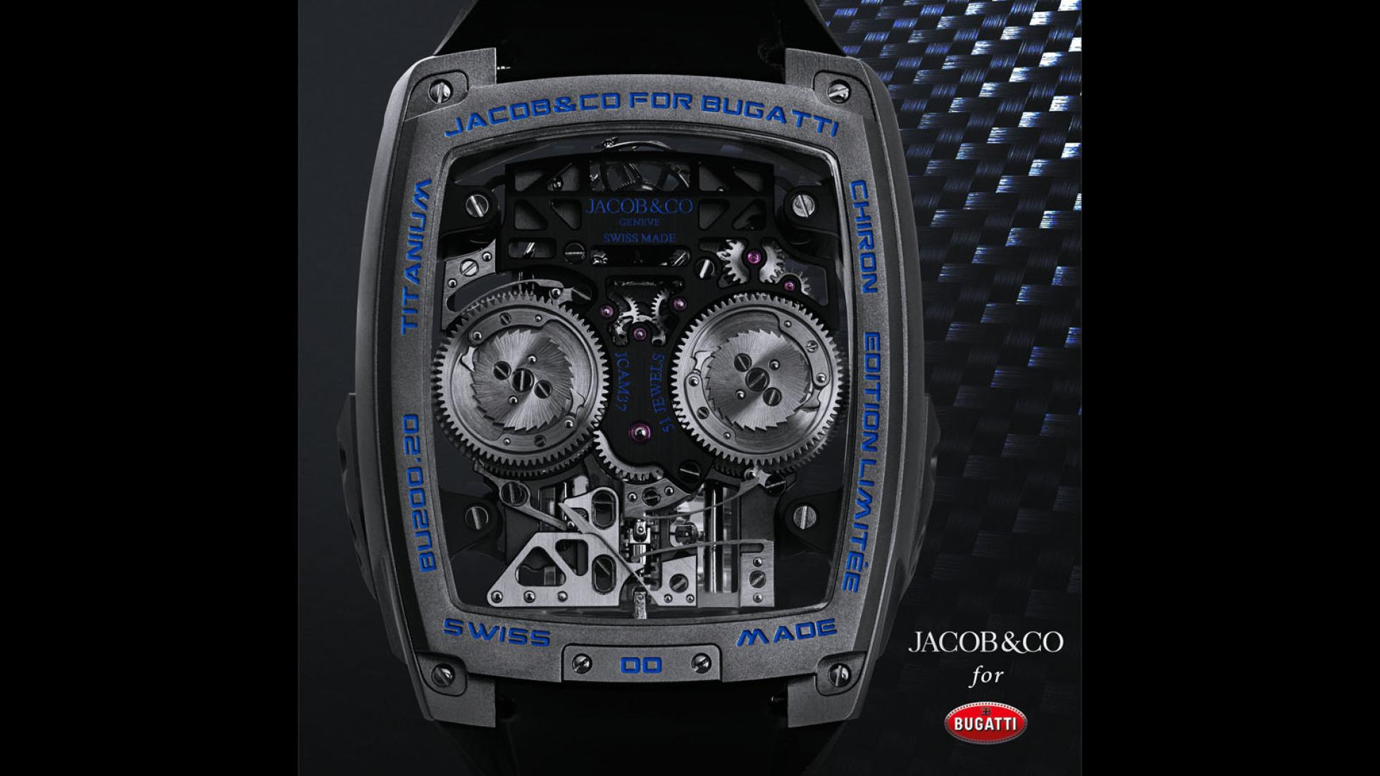 Hodinky Bugatti majú cenu drahého auta a miniatúrny šestnásťvalec YYnLgAySsV jacob-co-bugatti-chiron
