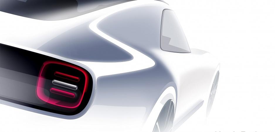 Honda na autosalóne v Tokiu predvedie športový elektromobil Sports EV