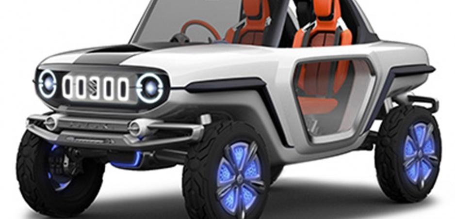 Hviezdou Suzuki bude na autosalóne v Tokiu retro koncept e-Survivor