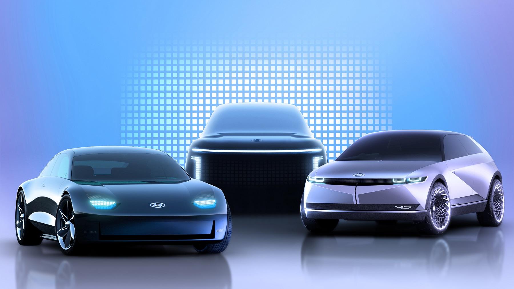 """Hyundai predstavil """"elektrickú"""" značku Ioniq. Prvým modelom bude SUV Ioniq 5"""