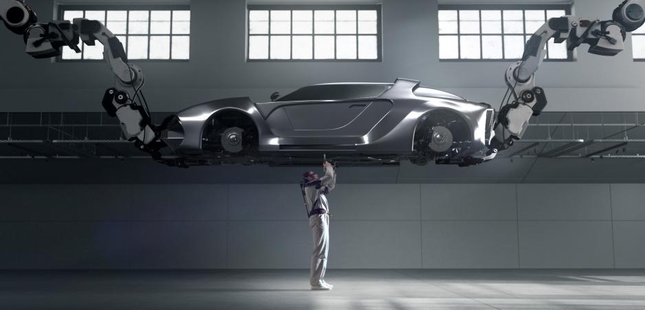 Hyundai predstavil EXoskeleton. Iron Man z vás nebude, ale práca za pásom bude ľahšia