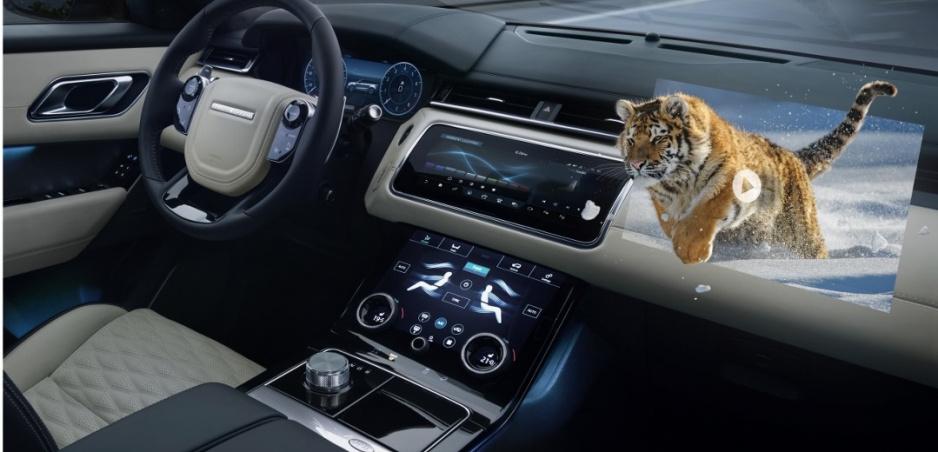 Jaguar Land Rover vyvíja 3D head up displej, zlepší viditeľnosť v zlom počasí