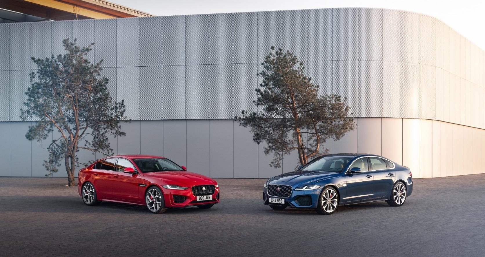 Jaguar modernizoval modely XF a XE. Cenu stlačil dole