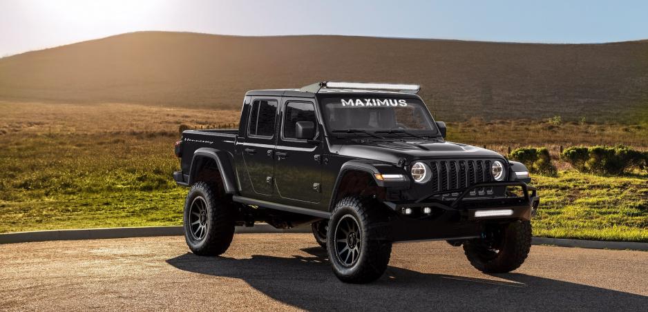 Jeep upravený na 1000 koní: Hennesey Maximus je terénny diabol