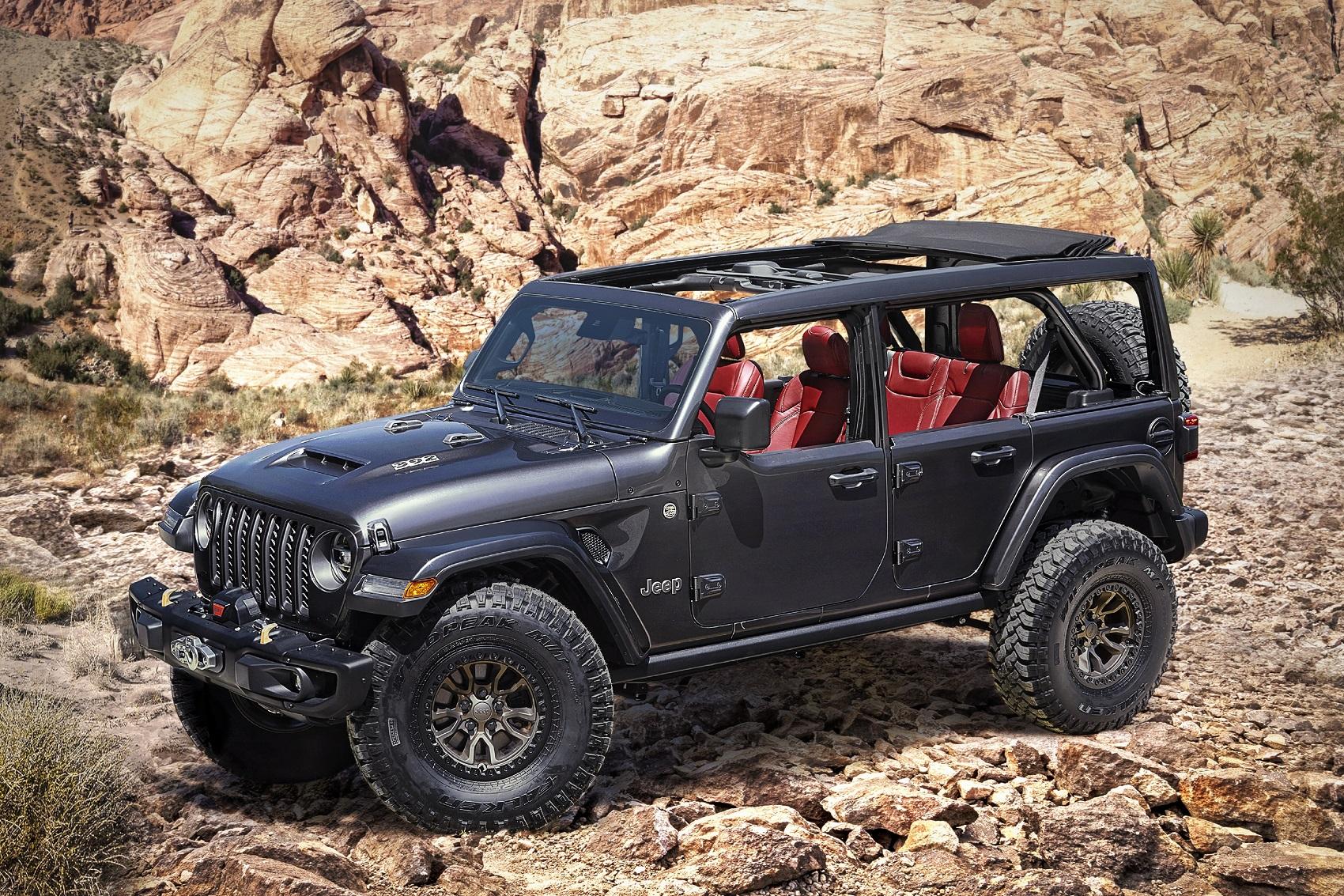 Jeep Wrangler Rubicon 392 prichádza konečne s osemvalcom, zatiaľ len ako koncept