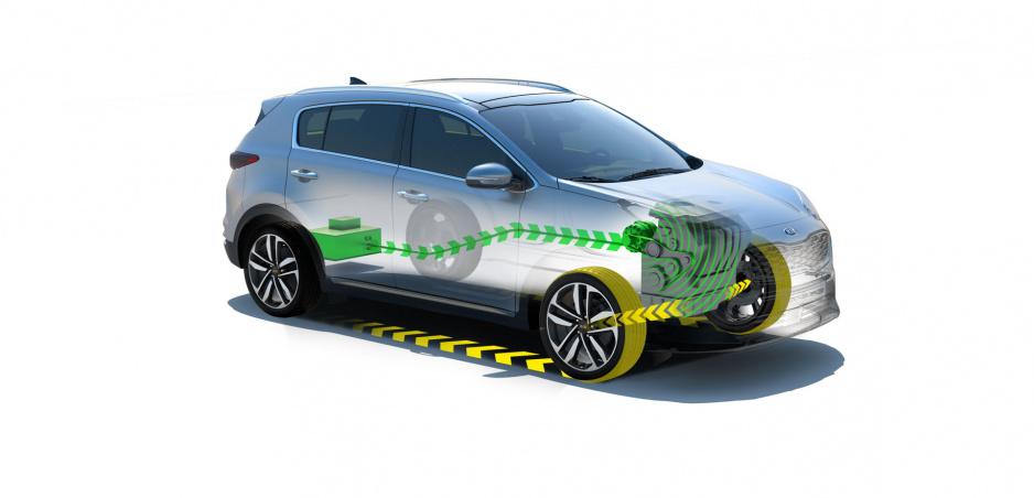 Kia Sportage dostane naftovú mild hybridnú pohonnú jednotku