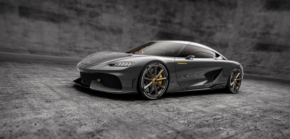 Koenigsegg ukázal Mega-GT pre štyroch: Jeho názov bude pre Slovákov smiešny