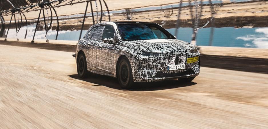 Luxusné a elektrické BMW iNEXT už podstupuje záťažové testy