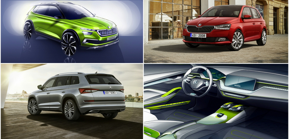 Luxusný Kodiaq, nová Fabia a koncept Vision X. Čo všetko prinesie Škoda do Ženevy?