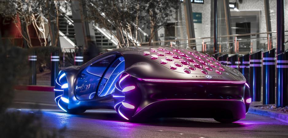 Mercedes prišiel so šialeným konceptom Vision AVTR