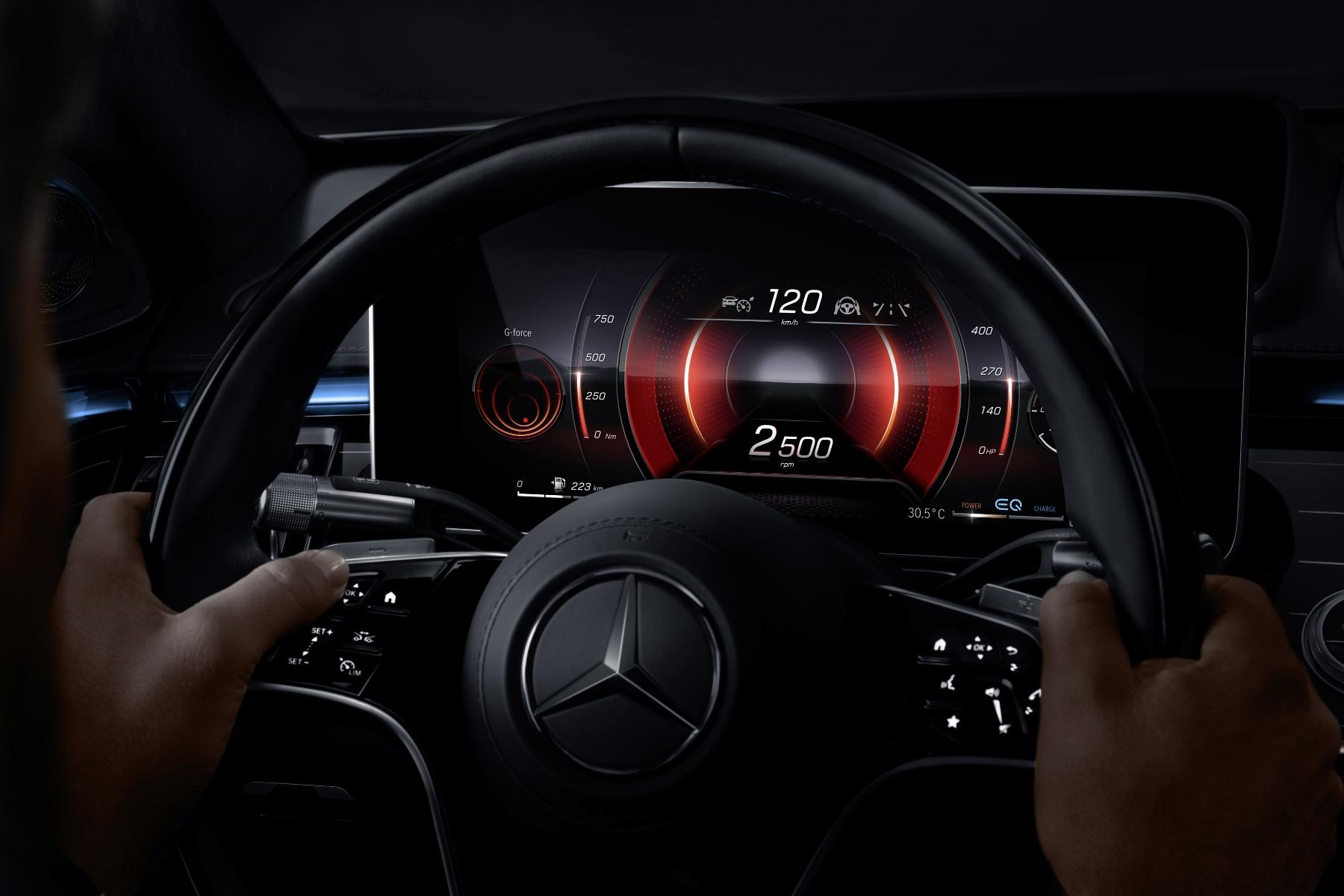 Mercedes triedy S dostane 3D displej a množstvo nových technológií