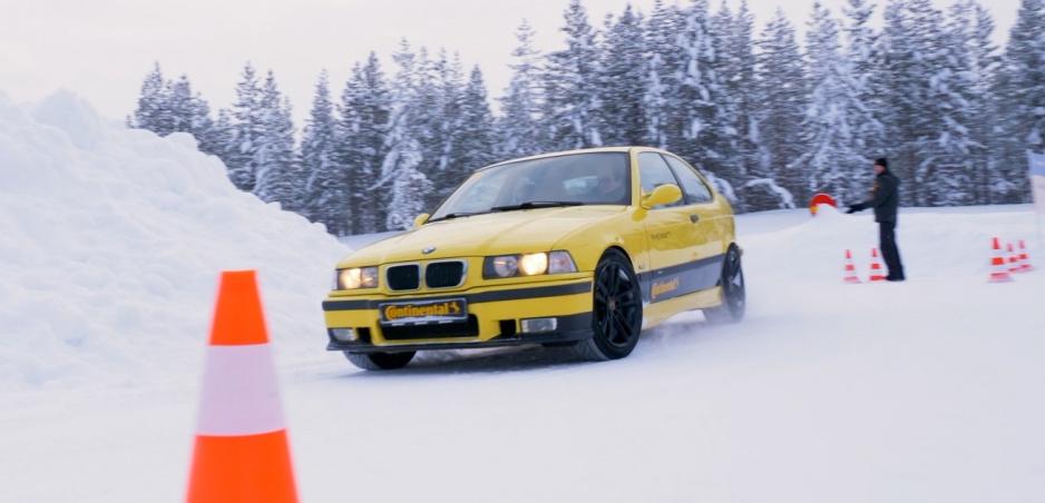 Na polárnom kruhu sme skúšali pneumatiky ContiWinterContact TS 860 S