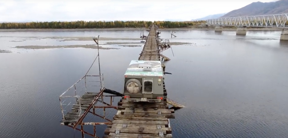 Najnebezpečnejšie mosty sveta 4: Most cez Vitim
