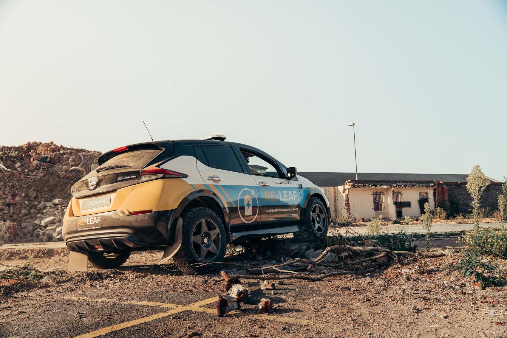 Nissan RE-Leaf je určený na zásahy po katastrofách