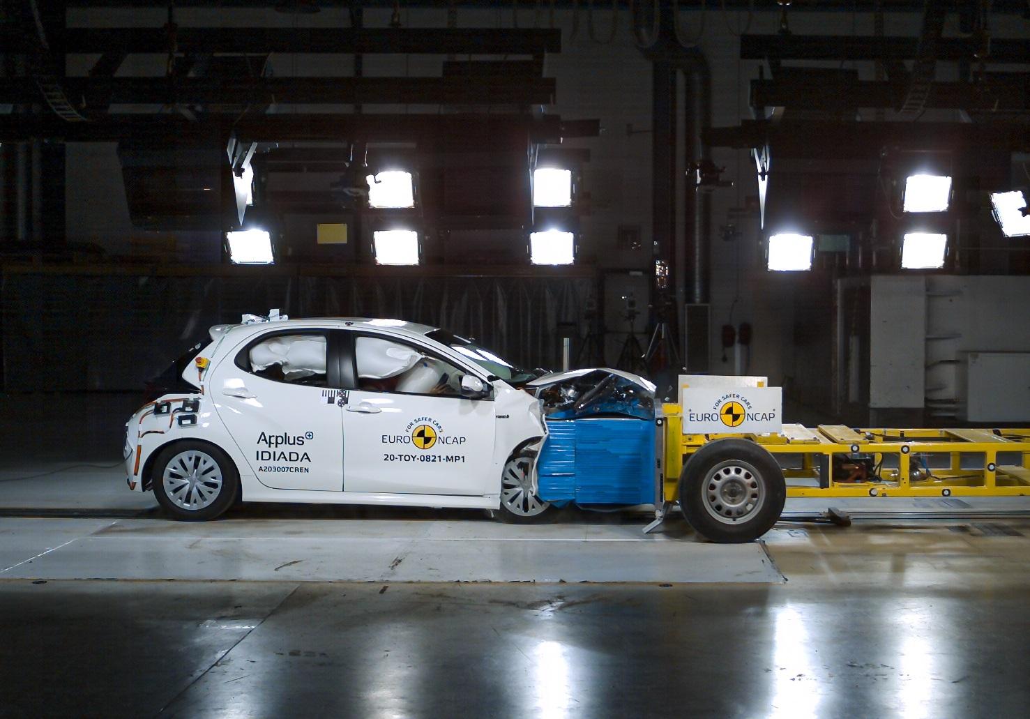 Nová Toyota Yaris nastavila latku v nárazových testoch bezpečnosti