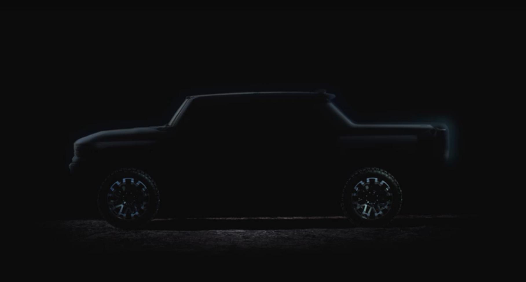 Nový elektrický Hummer EV sa poodhaľuje v ďalšom videu
