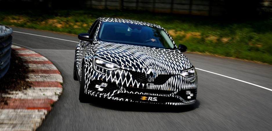 Nový Renault Mégane R.S. v Monaku prevetral Nico Hülkenberg