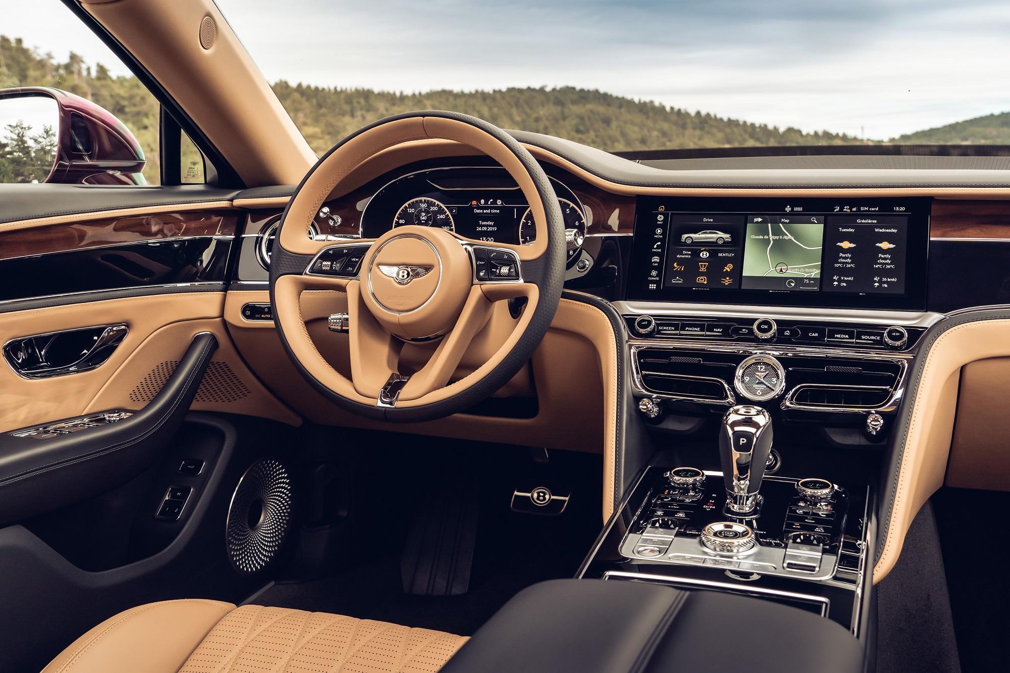 Otočný panel v Bentley je kus efektnej a precíznej techniky If7WG1qRya bentleyrotatingdisplay-3