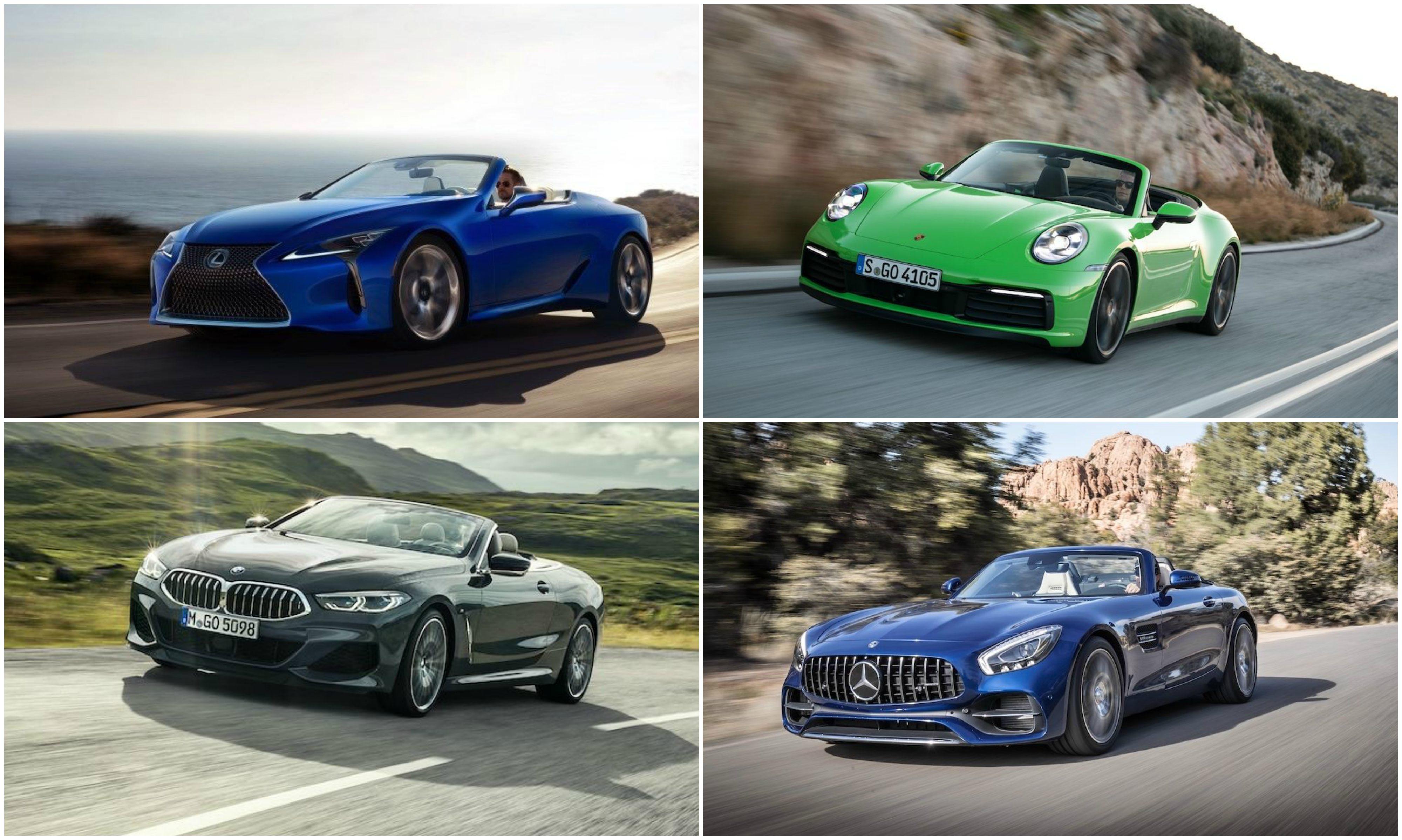 Pozrite si luxusné a hlavne rýchle kabriolety, dostupné u nás