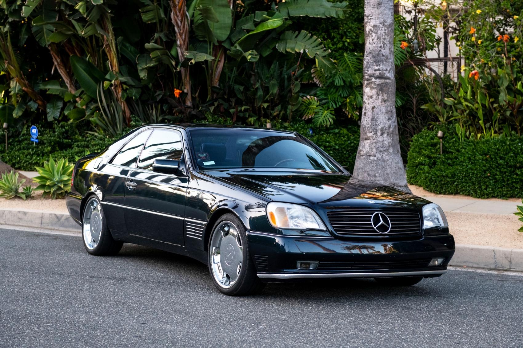 Pozrite si Mercedes S600 Michaela Jordana z roku 1996 QKaKLxZQek lorinsercl600ex-jordanfrontdiagonal