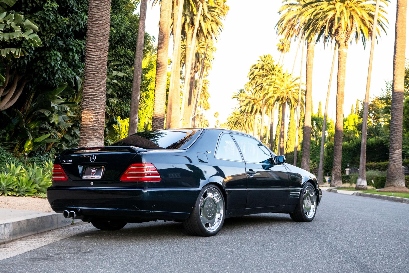 Pozrite si Mercedes S600 Michaela Jordana z roku 1996