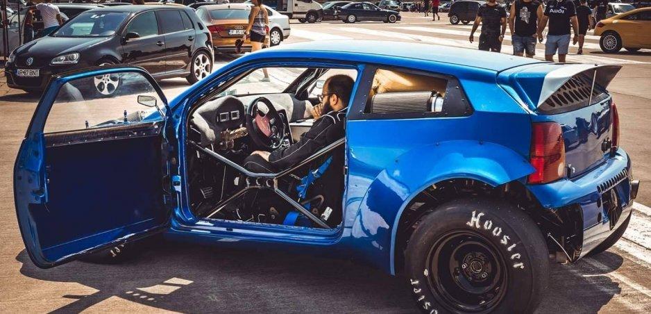 Pozrite si Volkswagen Lupo s viac ako 1300 kW! Je to hotové šialenstvo